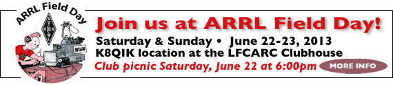 Join us at ARRL Field Day!